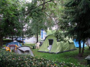 Pole namiotowe Kanał Elbląski